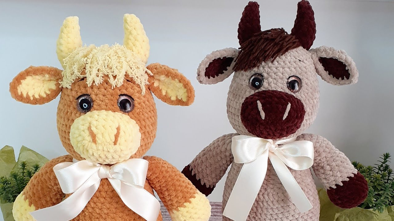 бычок крючком, вязаный бык крючком, символ 2021, плюшевый бык крючком, вязаная корова крючком, вязаный бычок крючком, мастер-класс, как связать быка крючком, вяжем быка крючком, амигуруми, игрушки, zi handmade, вязание крючком, бесплатный мастер-класс, crochet bull, how to crochet the bull, free pattern, amigurumi bull, вязальный блогер, вязание, рукоделие, häkeln, фото, картинка, мастер-класс, мк, схема, описание, крючком, амигуруми, игрушка, фотография