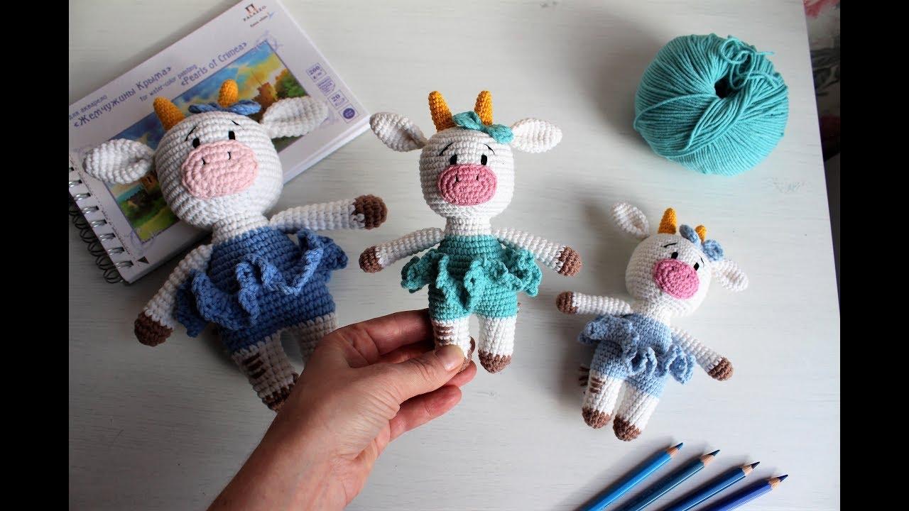 movavi, коровка, корова крючком, коровка вязаная, вязание с катериной архиповой, лучшая корова, игрушка корова, игрушка амигуруми, бычок, вязаный бычок, бычок крючком, вязание бычка, вязание коровки, игрушка своими руками, вязание игрушек крючком, игрушки крючком, лёшкая игрушка крючком, вязание крючком для начинающих, схема коровы крючком, мастер-класс по игрушке, мк по вязанию игрушки, фото, картинка, мастер-класс, мк, схема, описание, крючком, амигуруми, игрушка, фотография