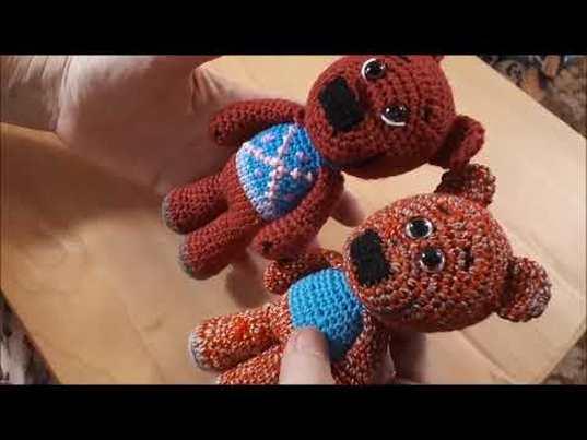 Ми ми мишки крючком, вязаный мишка, амигуруми,  видео урок по вязанию игрушки крючком,  мастер класс по вязанию кеши, фото, картинка, мастер-класс, мк, схема, описание, крючком, амигуруми, игрушка, фотография