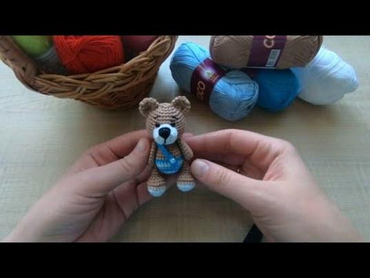 вязание, вязание крючком, вязаная игрушка крючком, маленькая вязаная игрушка, вязаный брелок, вязаный мишка, вязаный мишка в одежде, юлия кузнецова, как связать игрушку крючком, как связать мишку крючком, как связать брелок крючком, мк по вязаной игрушке, мк по вязанию мишки, мк по вязанию брелока, вязаная миниатюра, knitting, knitted keychain, knitted toy, маленький вязаный мишка, как связать игрушку в одежде, полный мк по вязанию игрушки, простой мк по вязанию игрушки, фото, картинка, мастер-класс, мк, схема, описание, крючком, амигуруми, игрушка, фотография