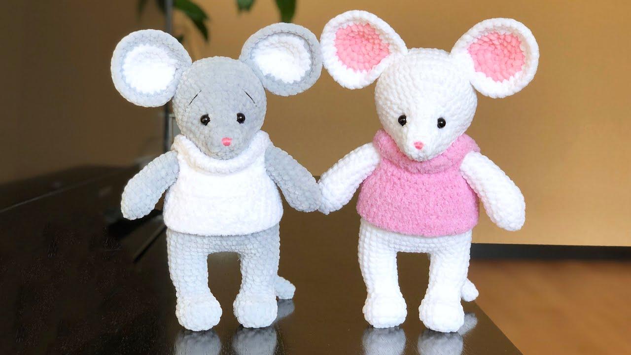 мышка, крыса, мышка крючком, вязаная мышка, вязаные игрушки, фото, картинка, мастер-класс, мк, схема, описание, крючком, амигуруми, игрушка, фотография