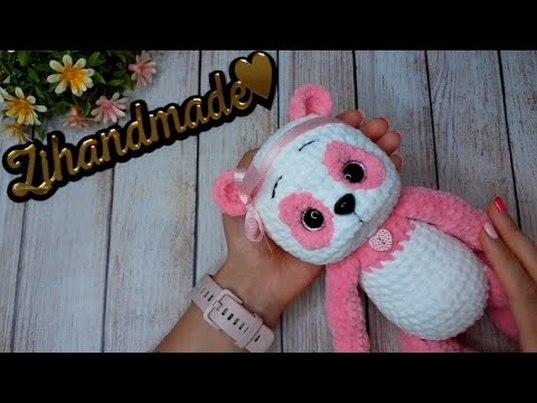 мк панда крючком, амигуруми панда, вяжем панду, как связать панду крючком, вязаная панда, вязаный мишка крючком, мишки крючком мк, амигуруми схемы, вязание, амигуруми игрушки мк, медведь крючком, куклы крючком, плюшевая панда крючком, амигуруми видео, zi handmade, фото, картинка, мастер-класс, мк, схема, описание, крючком, амигуруми, игрушка, фотография