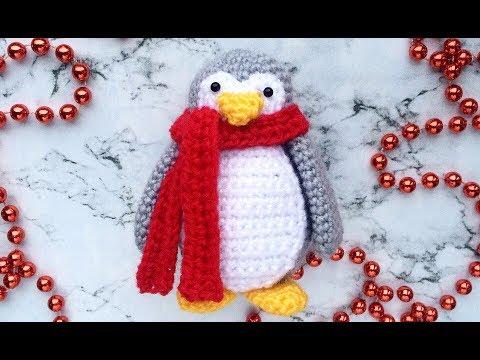 мастер-класс, мастер класс, вязание, вязание крючком, вязаный пингвин, как связать пингвина, амигуруми, пингвин крючком, урок по вязанию, амигуруми пингвин, вязаные игрушки, вязаная игрушка, новогодние игрушки, фото, картинка, мастер-класс, мк, схема, описание, крючком, амигуруми, игрушка, фотография