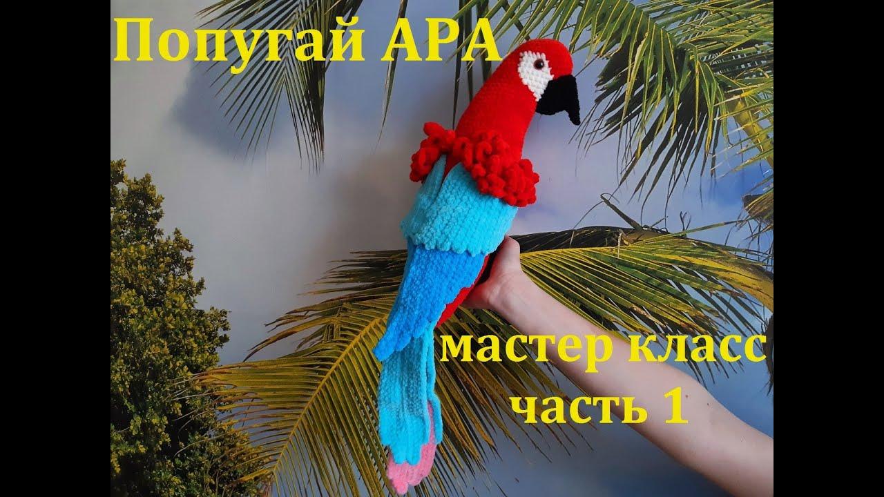 Попугай крючком, вязаный попугай, амигуруми, мастер класс по вязанию попугая, видео урок по вязанию попугая, игрушка своими руками , фото, картинка, мастер-класс, мк, схема, описание, крючком, амигуруми, игрушка, фотография