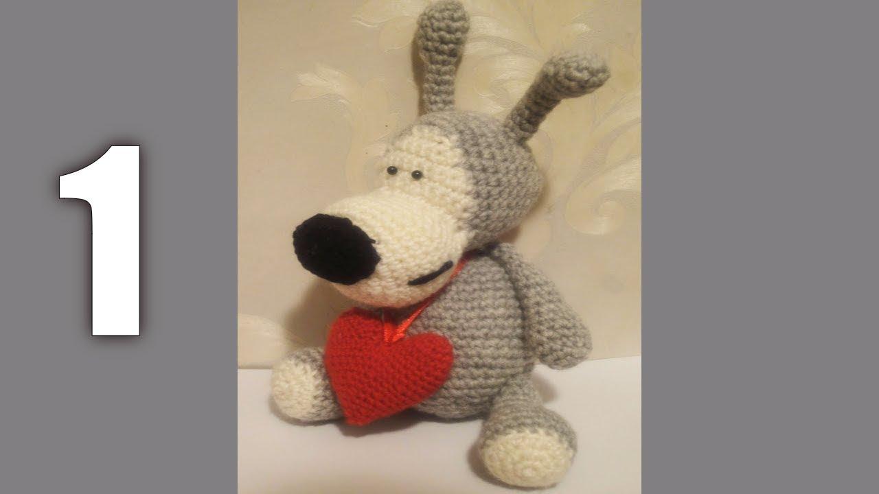 вязание, вязание крючком, видео, собака, буффи, вязаная собака, вязаный буффи, фото, картинка, мастер-класс, мк, схема, описание, крючком, амигуруми, игрушка, фотография