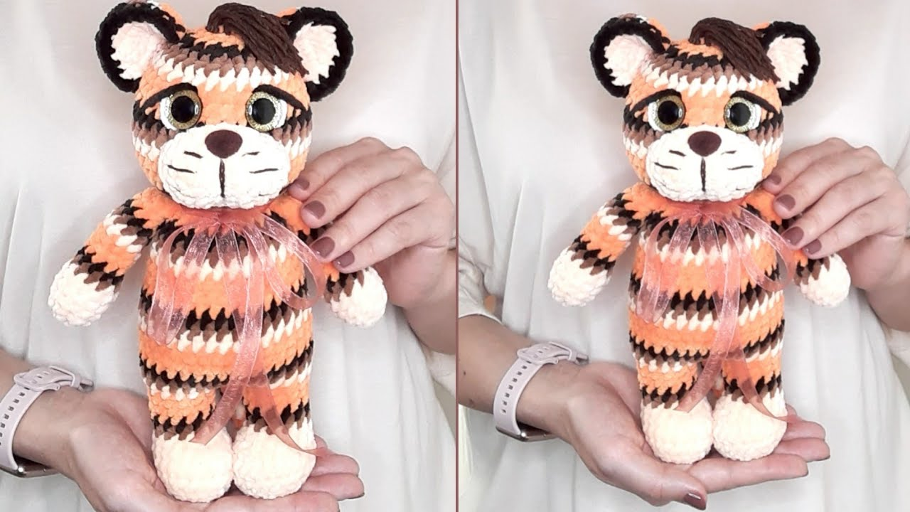 тигренок крючком, мк тигр крючком, мк тигр, тигрята крючком, вязаный тигренок, связать тигра крючком, вяжем тигра крючком, мк тигренок крючком, амигуруми видео, амигуруми схемы, амигуруми игрушки, амигуруми тигр, плюшевый тигр крючком, crochet tiger pattern, häkeln tiger, crochet tiger, how to crochet the tiger, вязальный блогер, zi handmade, фото, картинка, мастер-класс, мк, схема, описание, крючком, амигуруми, игрушка, фотография