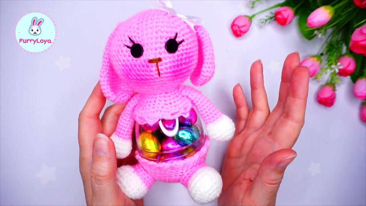 кролик крючком, зайчик крючком, конфетница крючком, пасхальный кролик крючком, ольга гаркуша вязание, зайка крючком, вязаный игрушки, crochet bunny, амигуруми заяц, игрушки ручной работы, игрушки крючком, вязаные игрушки крючком, пасхальный декор крючком, на пасху крючком, crochet easter, amigurumi bunny, пасхальный зайчик крючком, osterhase häkeln, easter crochet, пасхальный зайчик своими руками, подарки на пасху, кролик на пасху, как связать зайчика крючком, фото, картинка, мастер-класс, мк, схема, описание, крючком, амигуруми, игрушка, фотография