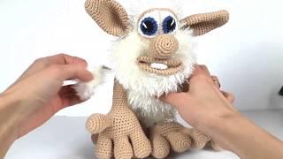 Домовенок Буба крючком. Видео мастер-класс, схема и описание по вязанию игрушки амигуруми