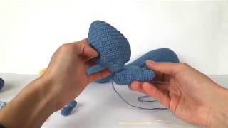 Дракон крючком. Видео мастер-класс, схема и описание по вязанию игрушки амигуруми