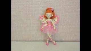 Фея-балерина Мия крючком. Видео мастер-класс, схема и описание по вязанию игрушки амигуруми