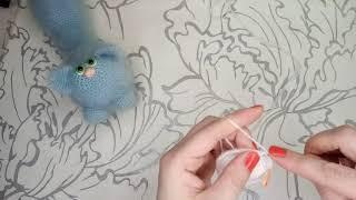 Кот Пушок крючком. Видео мастер-класс, схема и описание по вязанию игрушки амигуруми