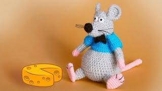 Крыс крючком. Видео мастер-класс, схема и описание по вязанию игрушки амигуруми