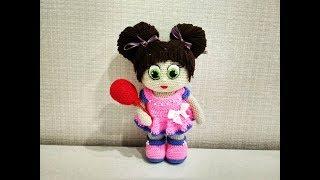 Кукла Бусинка крючком. Видео мастер-класс, схема и описание по вязанию игрушки амигуруми