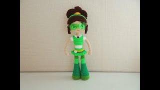 Кукла Маша крючком. Видео мастер-класс, схема и описание по вязанию игрушки амигуруми