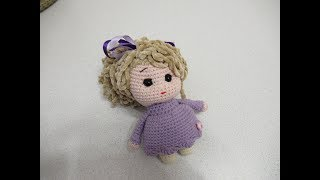 Куколка крючком. Видео мастер-класс, схема и описание по вязанию игрушки амигуруми