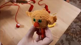 Ми-ми-мишки Цыпа крючком. Видео мастер-класс, схема и описание по вязанию игрушки амигуруми