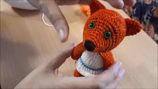 Ми-ми-мишки  Кеша крючком. Видео мастер-класс, схема и описание по вязанию игрушки амигуруми