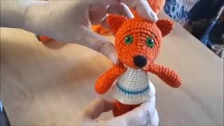 Ми-ми-мишки Лисичка крючком. Видео мастер-класс, схема и описание по вязанию игрушки амигуруми