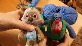 Мимимишки  Крот Валя крючком. Видео мастер-класс, схема и описание по вязанию игрушки амигуруми