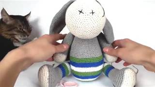 Ослик крючком. Видео мастер-класс, схема и описание по вязанию игрушки амигуруми