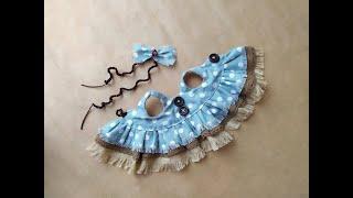 Платье для собачки Бассет крючком. Видео мастер-класс, схема и описание по вязанию игрушки амигуруми