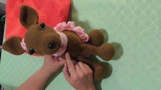 Собачка Чихуахуа крючком. Видео мастер-класс, схема и описание по вязанию игрушки амигуруми