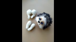 Ёжик крючком. Видео мастер-класс, схема и описание по вязанию игрушки амигуруми