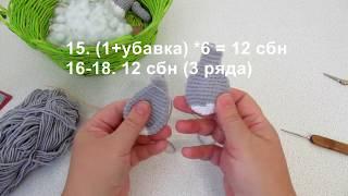 Зайка Дженни крючком. Видео мастер-класс, схема и описание по вязанию игрушки амигуруми