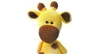 Жирафик Мелман крючком. Видео мастер-класс, схема и описание по вязанию игрушки амигуруми